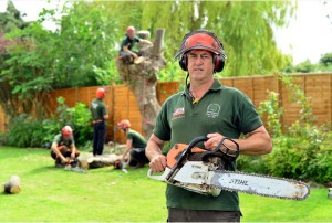 Kirk Bramwith tree surgeon