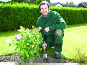North Nibley gardener